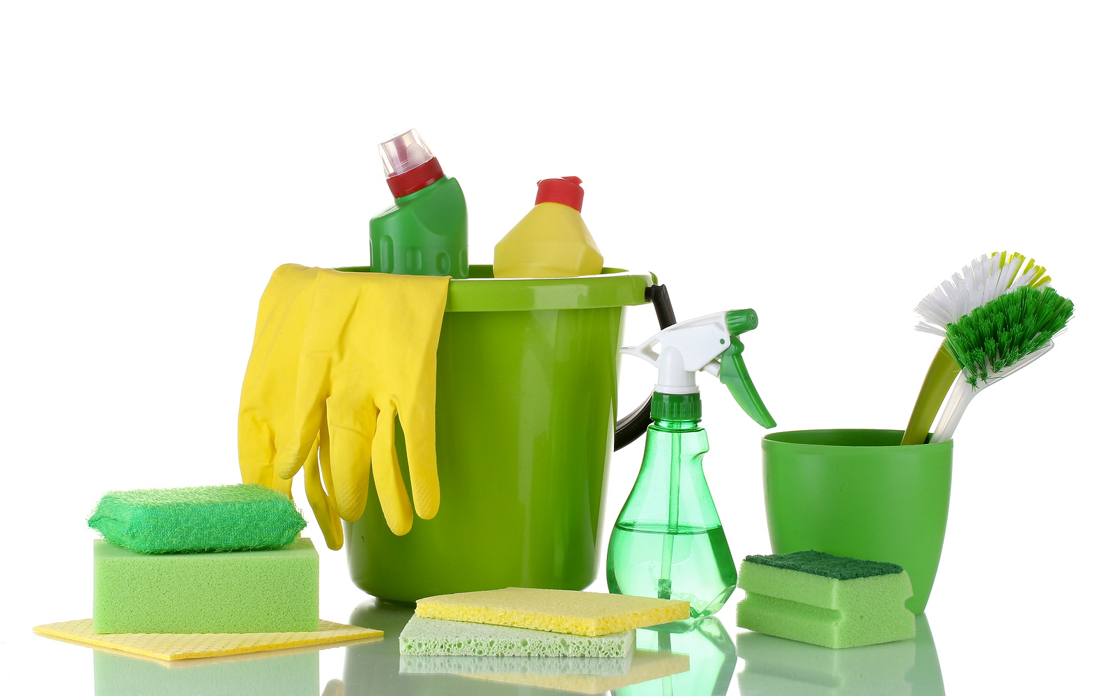 green cleaning products to keep your home safe follow