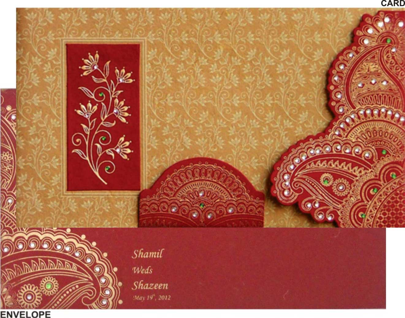 ihwc0010 indian wedding cards design indian wedding cards wedding – Indian Wedding Cards Design
