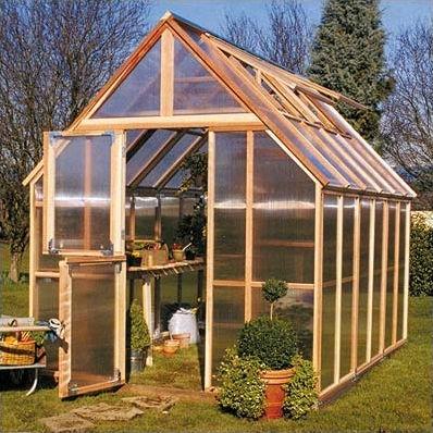 Build Your Own Mini Greenhouse Kit