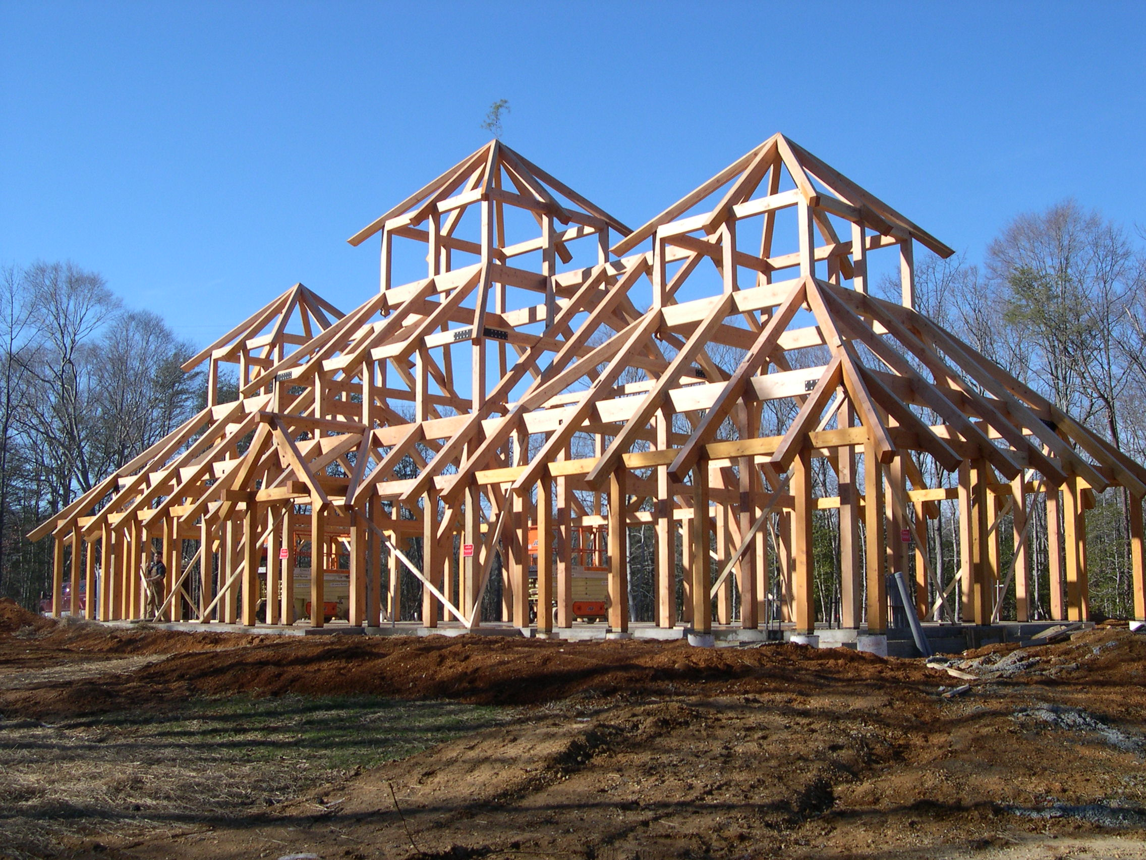 Timber Framed Building : Energy efficient and eco friendly building materials