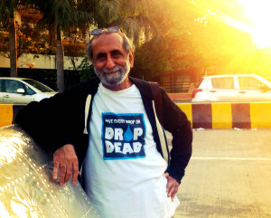 Abid Surti- the man who started it all, on his own.