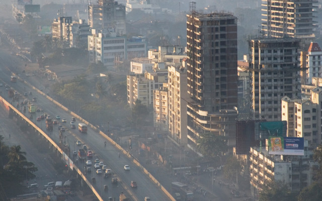Smog in Mumbai