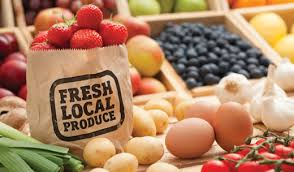 locally produced goods