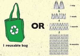 use a re-useable bag