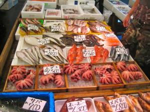 World's largest fish market- TSUKIJI FISH MARKET,Tokyo