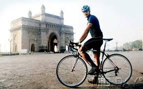 mumbai cyclist