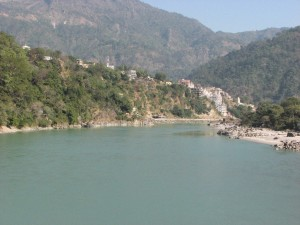 The Ganga, one of the more cleaner stretches
