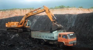 The large scale mining of coal points towards the over use of the non-renewable sources of energy, which is not a good road towards development.