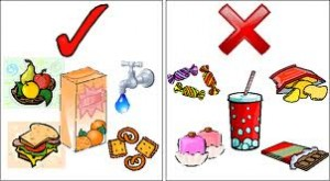 A healthy diet is as much necessary as exercises. Be careful, your stomach is not a trash can!