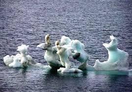 Melting polar caps
