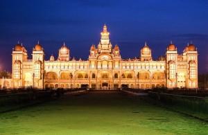 Mysore_Palace_Night