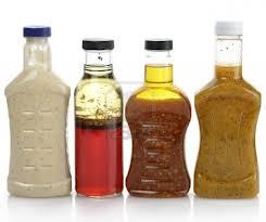 bottled salad dressigns