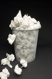 paper wastage
