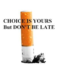 dont be late, choice is yours