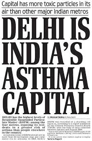 most polluted city