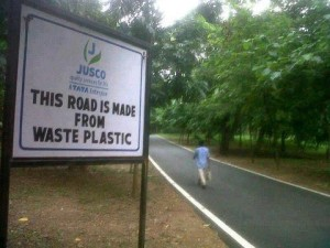 road-mater-from-waste-plastics