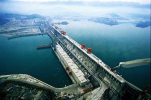 The Three Gorges Dam in China. The largest, and most notorious dam that displaced around 1.2 million people