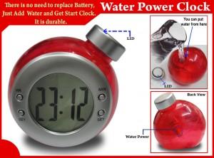 Water-power-clock