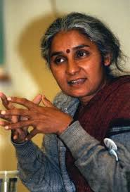 One of the most active personalities related to NBA, Medha Patkar.