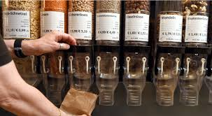 The store allows the customers to buy products according to their needs, rather than the standard packets, which result in wastage of the products.