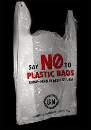 No plasric bags