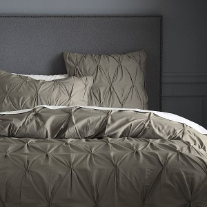 Organic-cotton-bedding-unit-for-Modern-Home-Furnishings-in-Grey