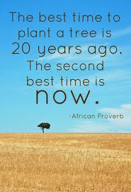 Have a garden. Plant a tree. Inspire generations.