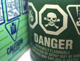 danger of cleaning liquids