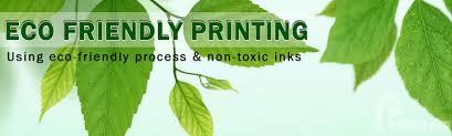eco freidnly printing