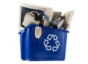get rid of old electronic appliances