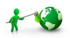 go green cleaning