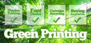green printing
