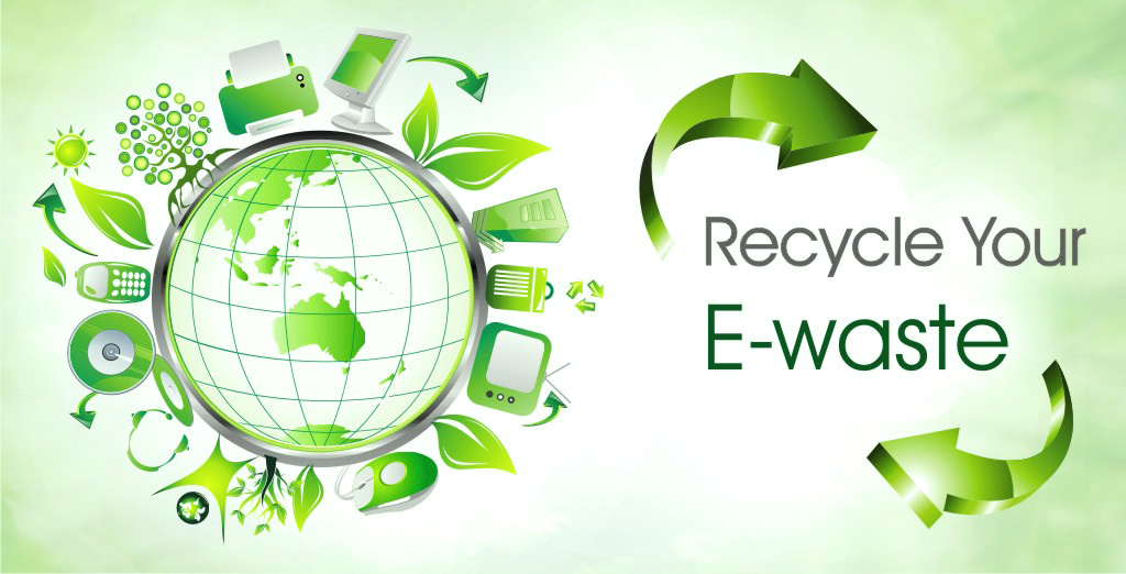 electronic waste recycling process pdf