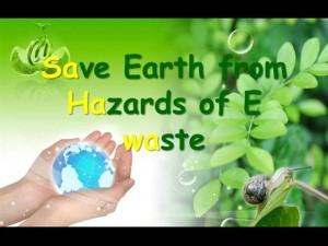 save earth from e-wastes