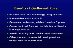 uses geothermal eenrgy