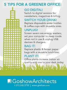 These are the five tips which can prove very helpful to make an office greener.
