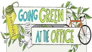 If we talk of going green at home, then why not at the office too?