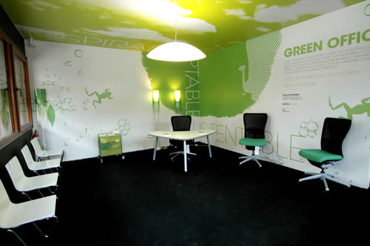 Green office Concept Green Office Sustainability At Harvard Green Office Making World Greener Follow Green Living