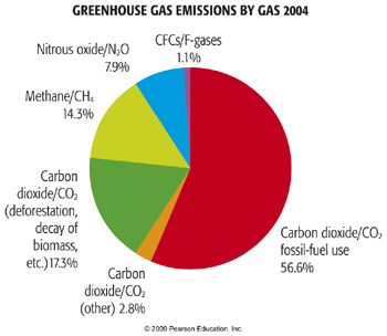 the contribution of human emission of carbon dioxide to global warming Learn about the impact of human activity on the environment with bbc bitesize  ks3  extra carbon dioxide in the atmosphere increases the greenhouse effect.