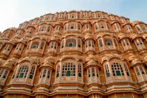The beautiful Hawa Mahal