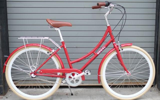 fixie city cruiser bike